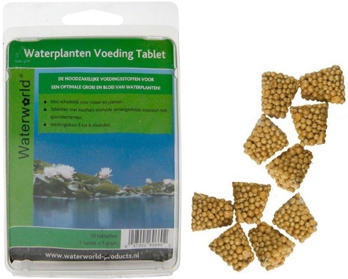 Waterworld Voedingstablet - 10 stuks - Voor een Optimale Groei van uw Waterplanten