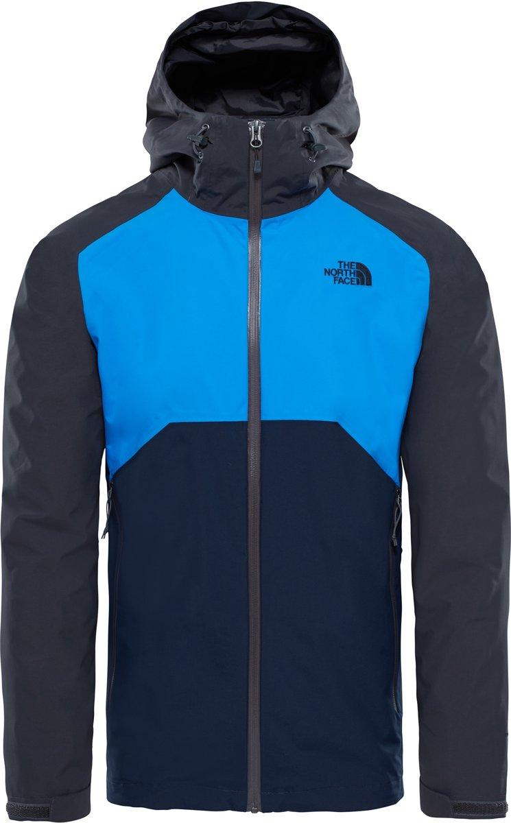 Jas The North Face Men Stratos Jacket Primary Green Lime Green Kodiak blue