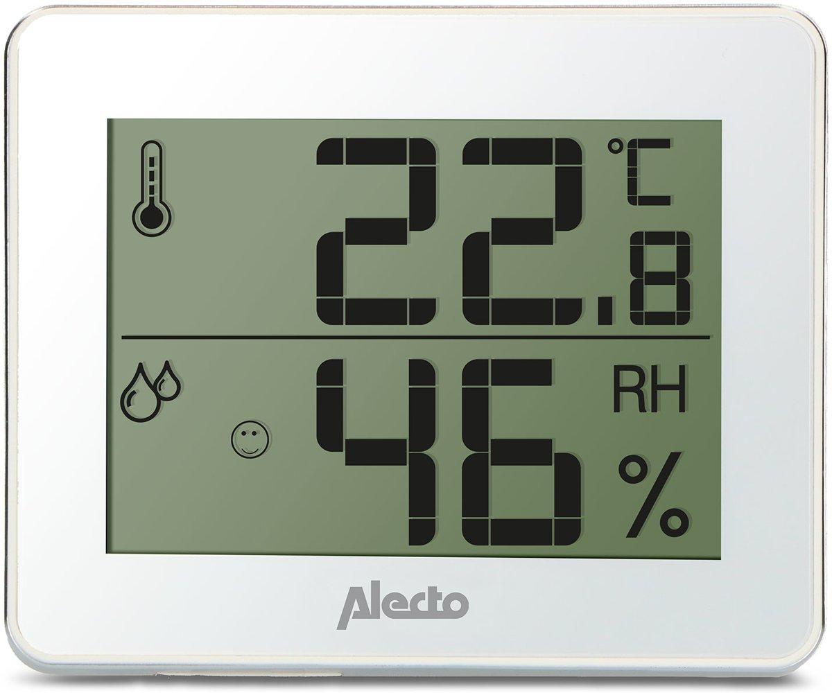 Alecto WS-55 Hygrometer en Thermometer - Geheugen laagste en hoogste gemeten waarden kopen