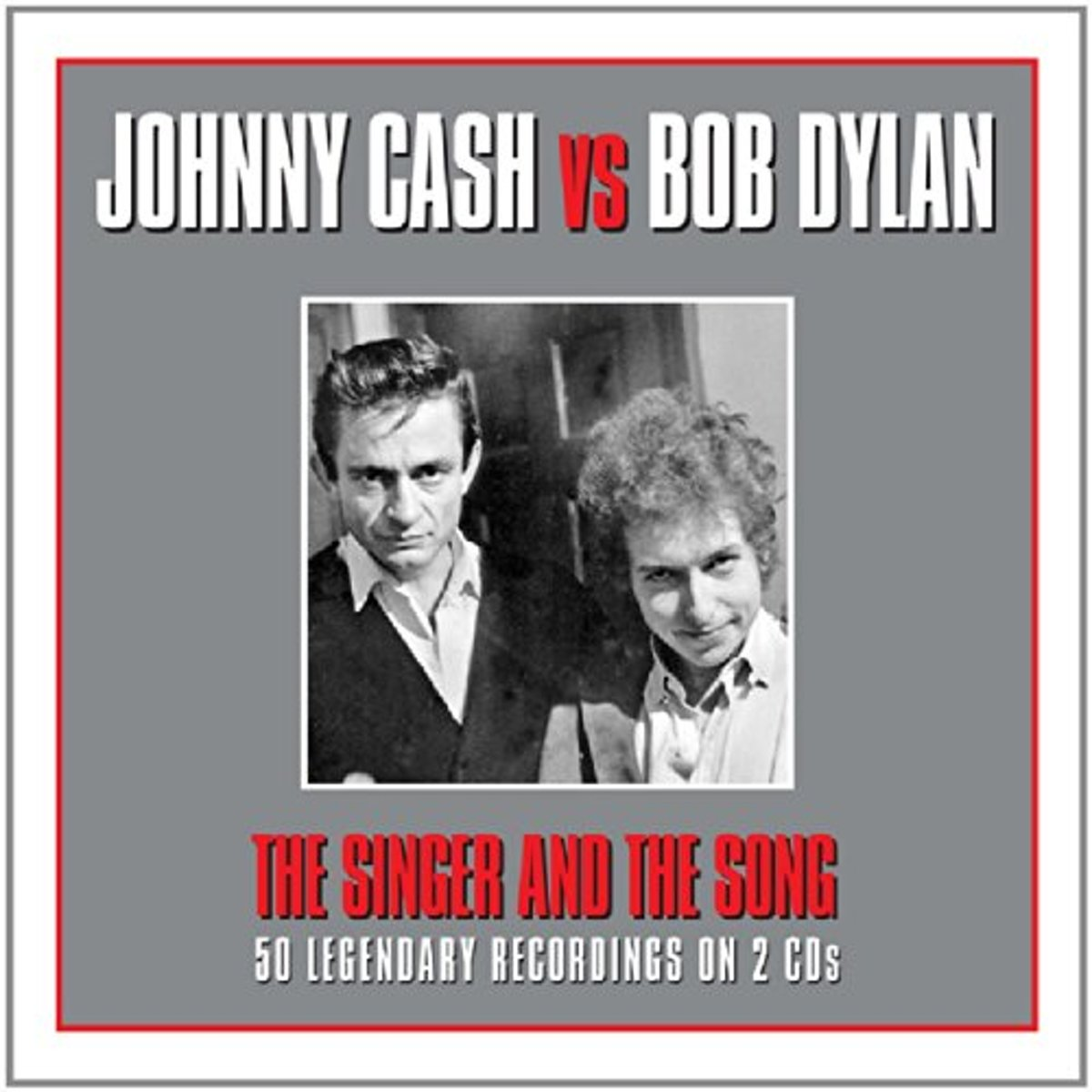 Johnny Cash;Bob Dylan Johnny Cash Vs Bob Dylan Rock CD kopen