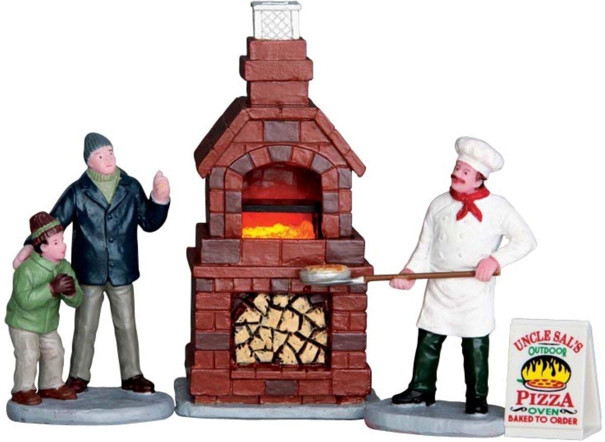 Lemax - Outdoor Pizza Oven, Set Of 4, B/O (4.5V) uit de 2016 Collectie kopen