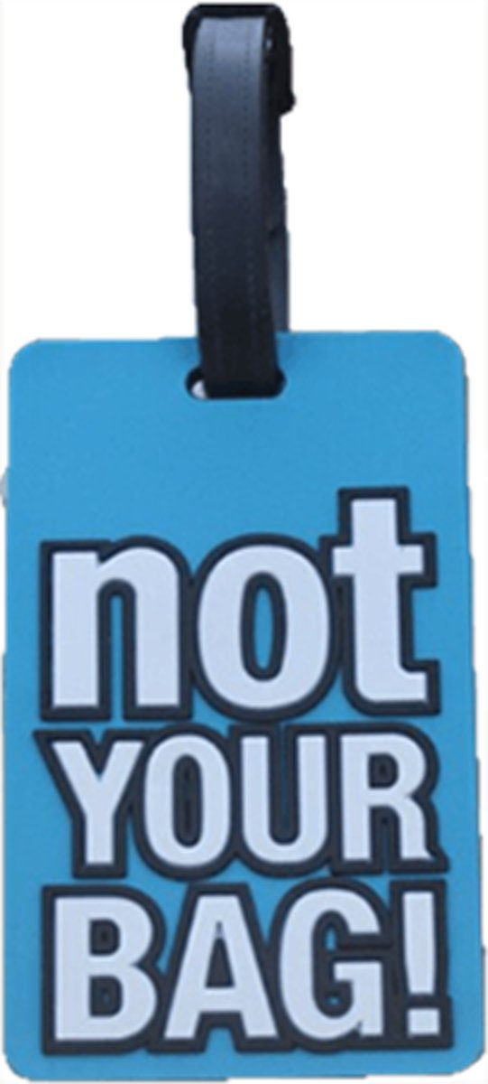 "DW4Trading® Kofferlabel ""Not your bag!"" kopen"