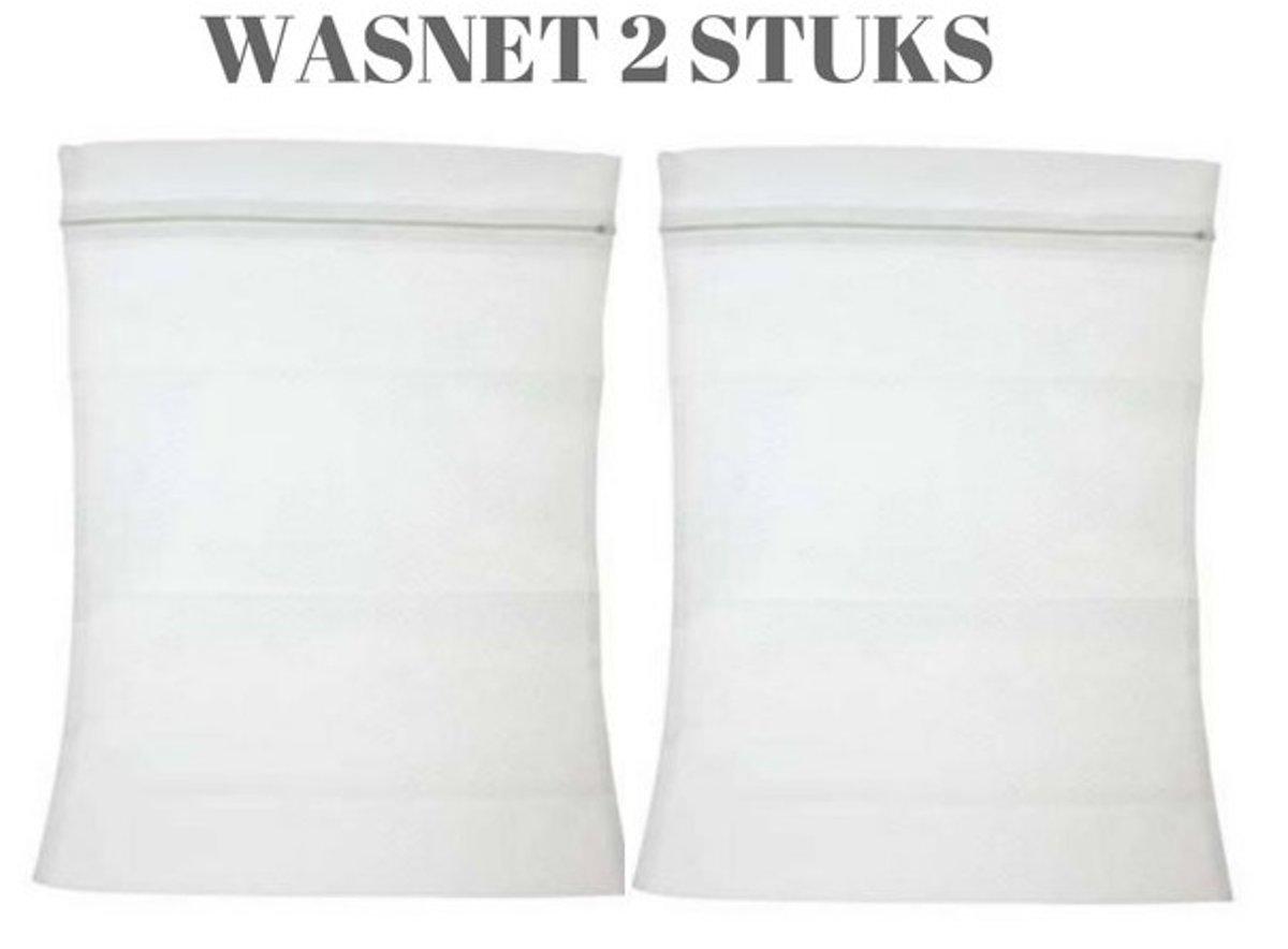 Waszak - Wasnet - Waszakjes voor veilig wassen in wasmachine | Laundry Bags voor Sokken, Ondergoed, BH, Kleine wasgoed | 2 Stuks | 40 x 30 CM kopen