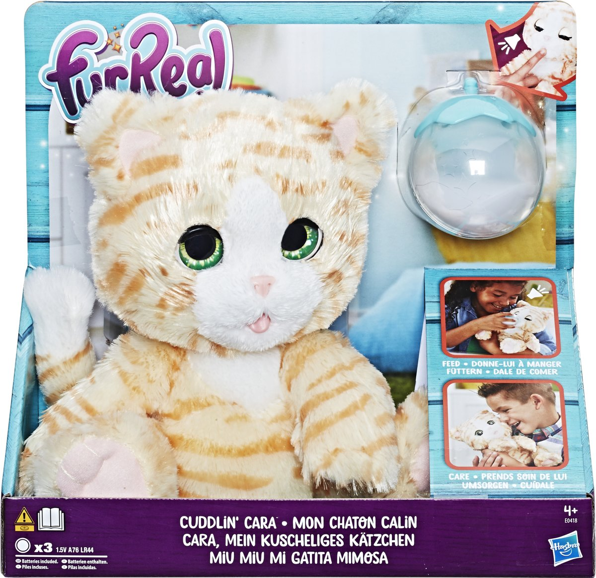 FurReal Friends Cara de Verzorgpoes - Interactieve Knuffel