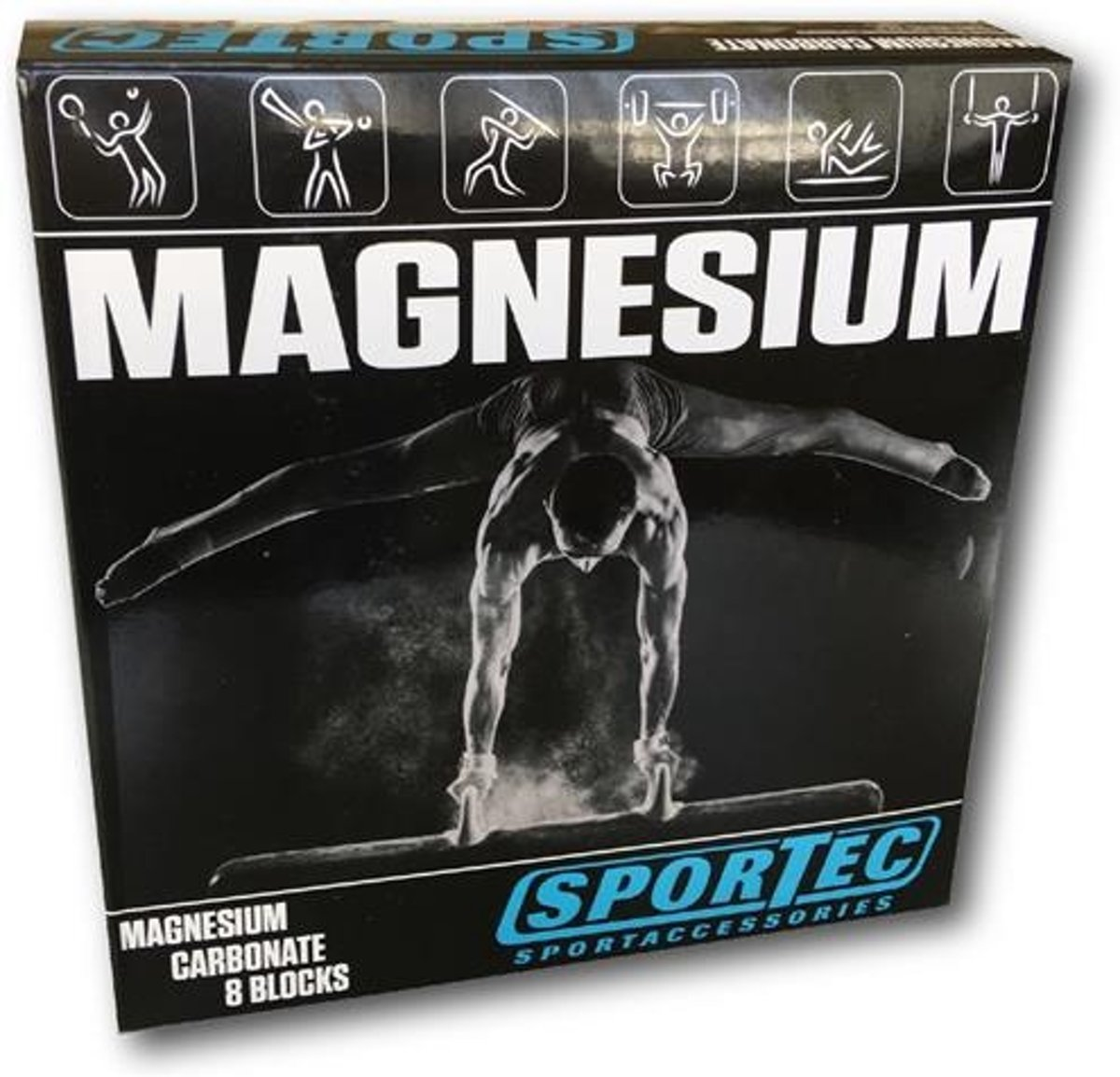 Sportec - Magnesium - Wit - 8 blokken