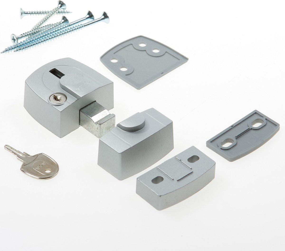 AXA Oplegslot Raam + Deur Zilver 3015 Silverline, SKG1