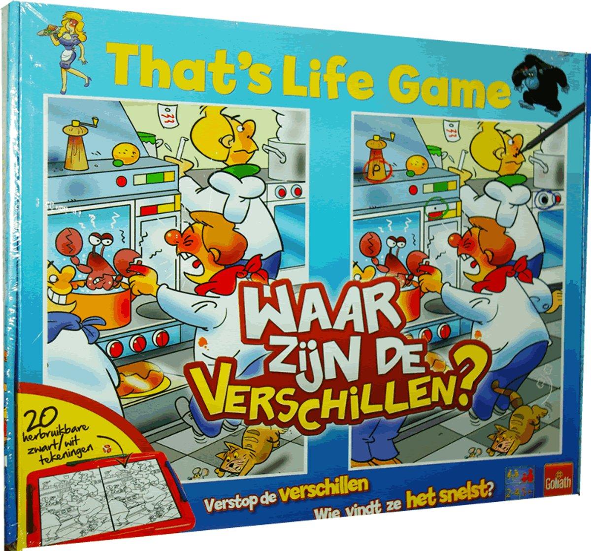 That's Life Game - Waar zijn de verschillen? Verschillen zoeken