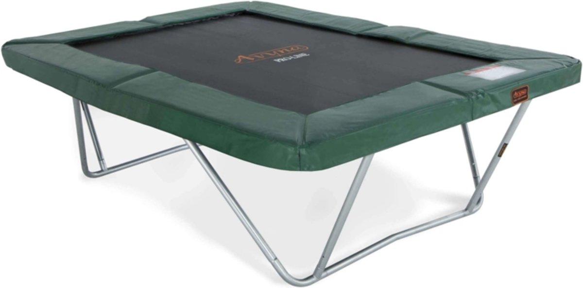 PRO-LINE trampoline 300 x 225 Groen- Gratis Afdekhoes