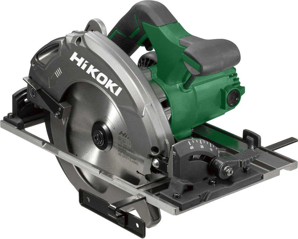 HiKOKI C7BUM P1Z cirkelzaagmachine + liniaal 1400 in tas