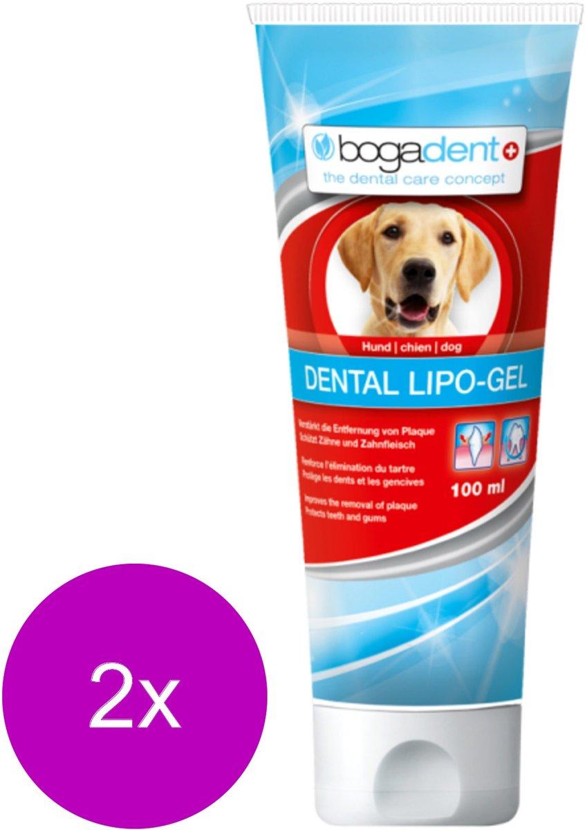 Bogadent Dental Lipo-Gel - Gebitsverzorging - 2 x 100 ml kopen