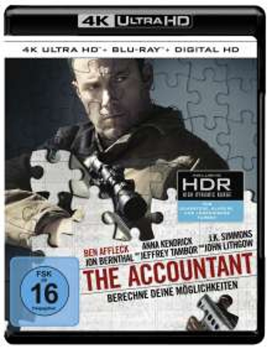 The Accountant (Ultra HD Blu-ray & Blu-ray)-