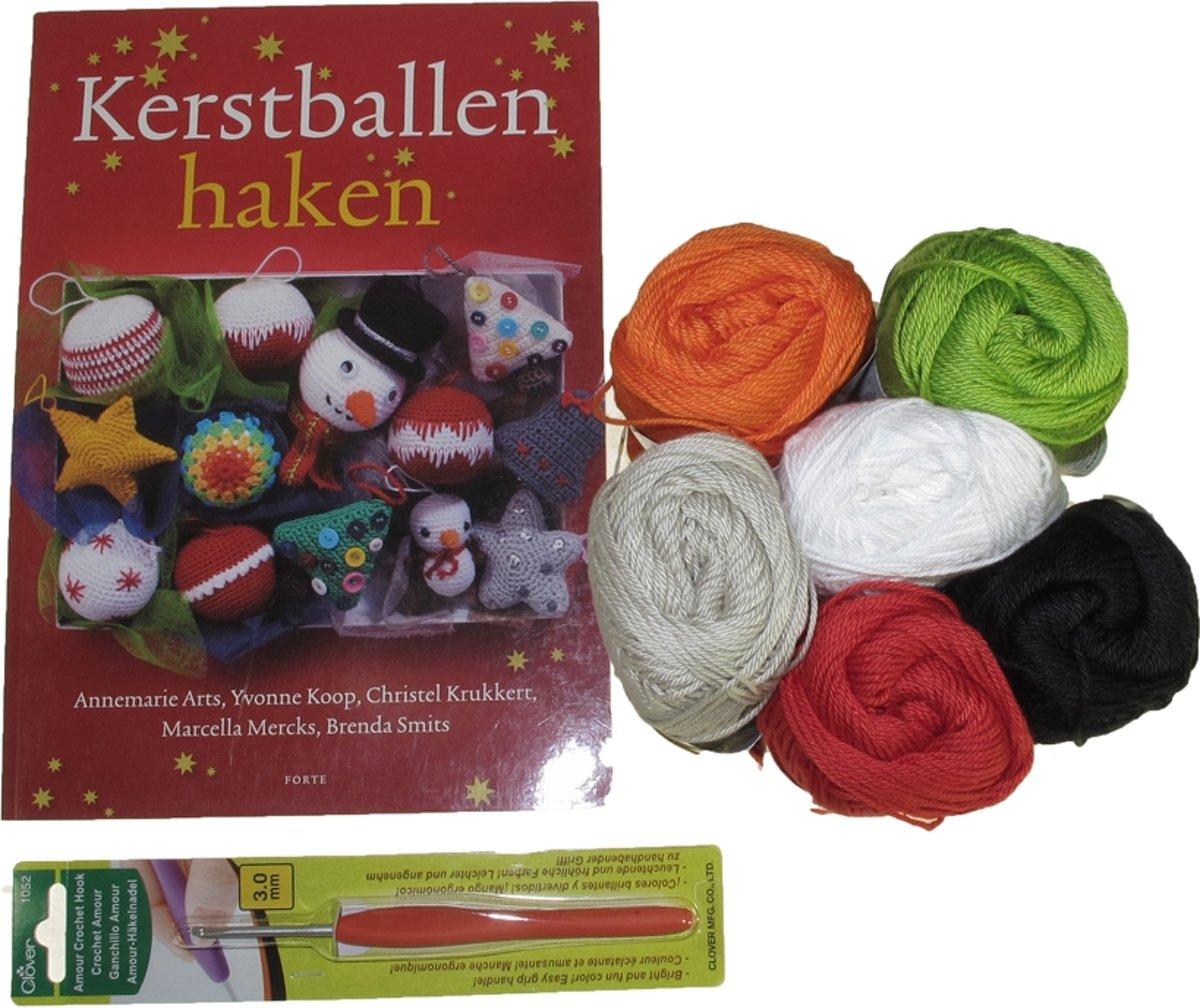 Bolcom Kerstballen Haken Haakpakket Speelgoed