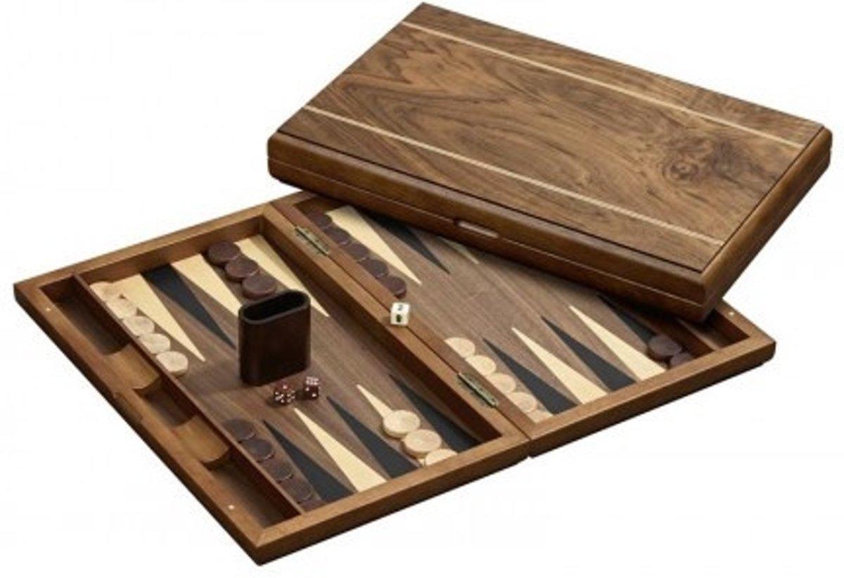 Backgammon koffer Delos