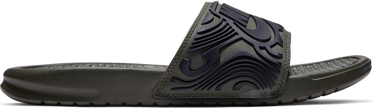 Nike Benassi Jdi Se Slippers Heren Zwart Maat 44