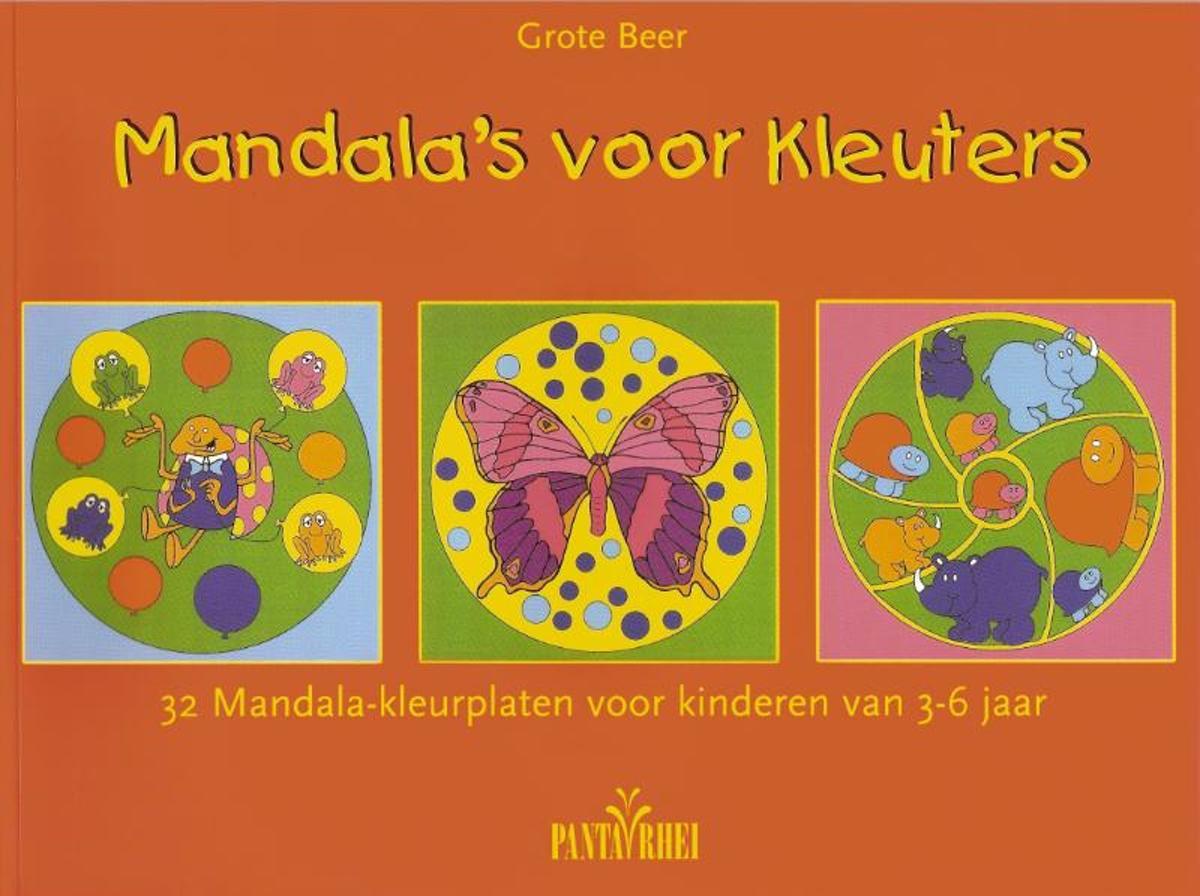 Mandala Kleurplaten Boek.Bol Com Mandala S Voor Kleuters Grote Beer