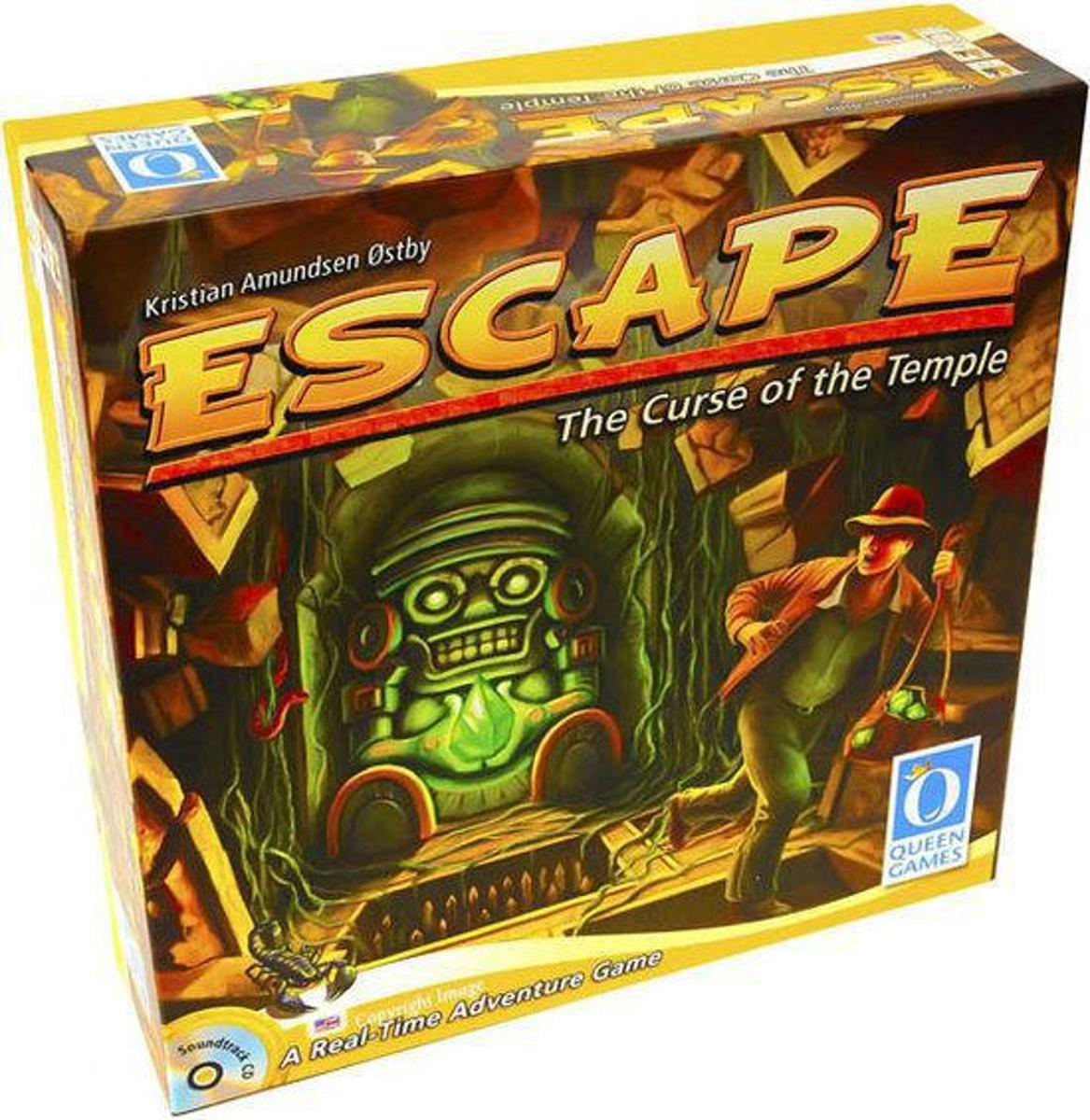 Escape The Curse of the Temple - Bordspel