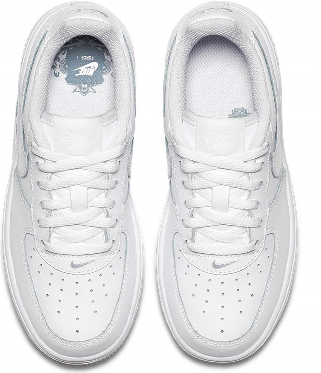 bec9e588d5d bol.com | Nike Air Force 1 (PS) Sneakers Kinderen - White/White-White