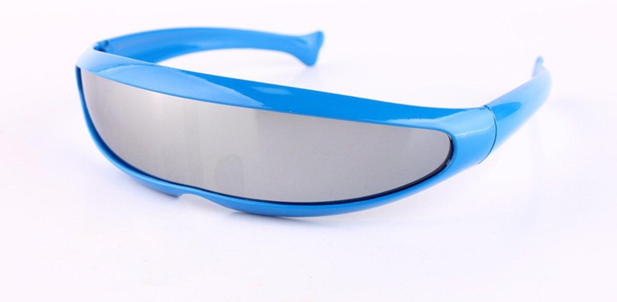 Snelle Planga Zonnebril Blauw