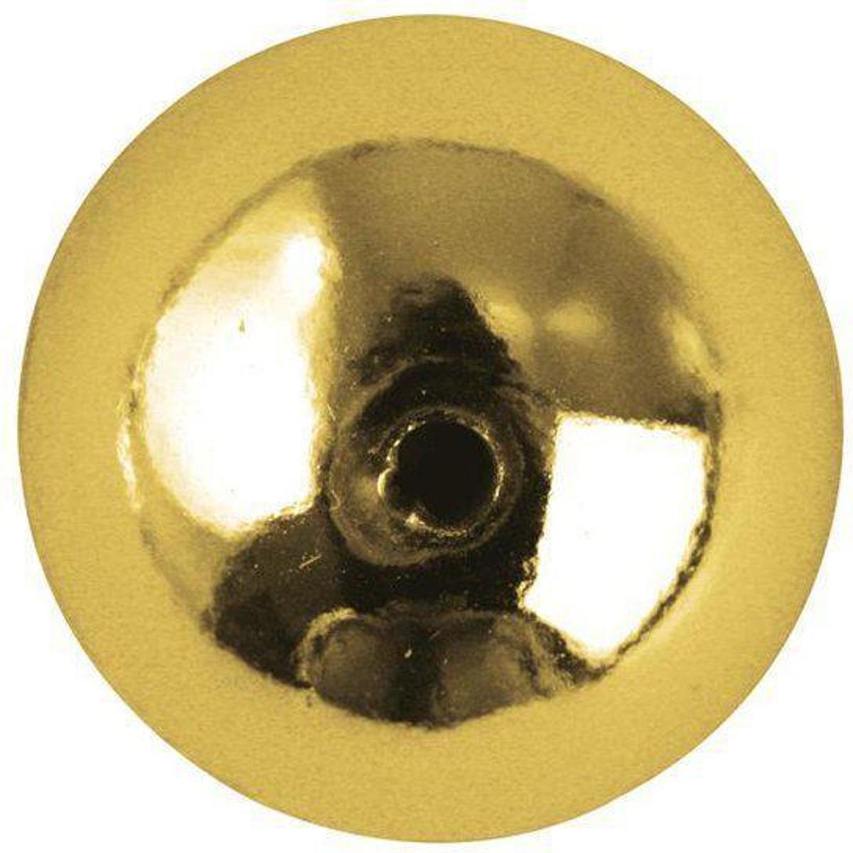 22 stuks gouden plastic kralen 10 mm kopen