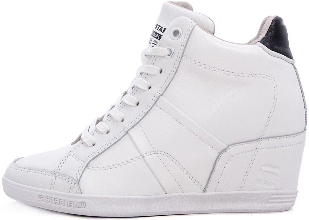 | G Star Yield Wedge Witte Dames Sneakers Maat 38