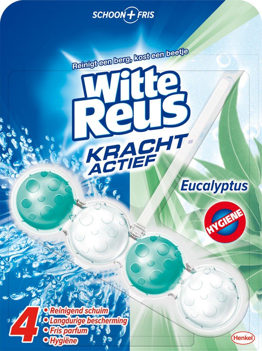 Witte Reus WC Kracht Actief Eucalyptus - 50 gr - Toiletblok kopen