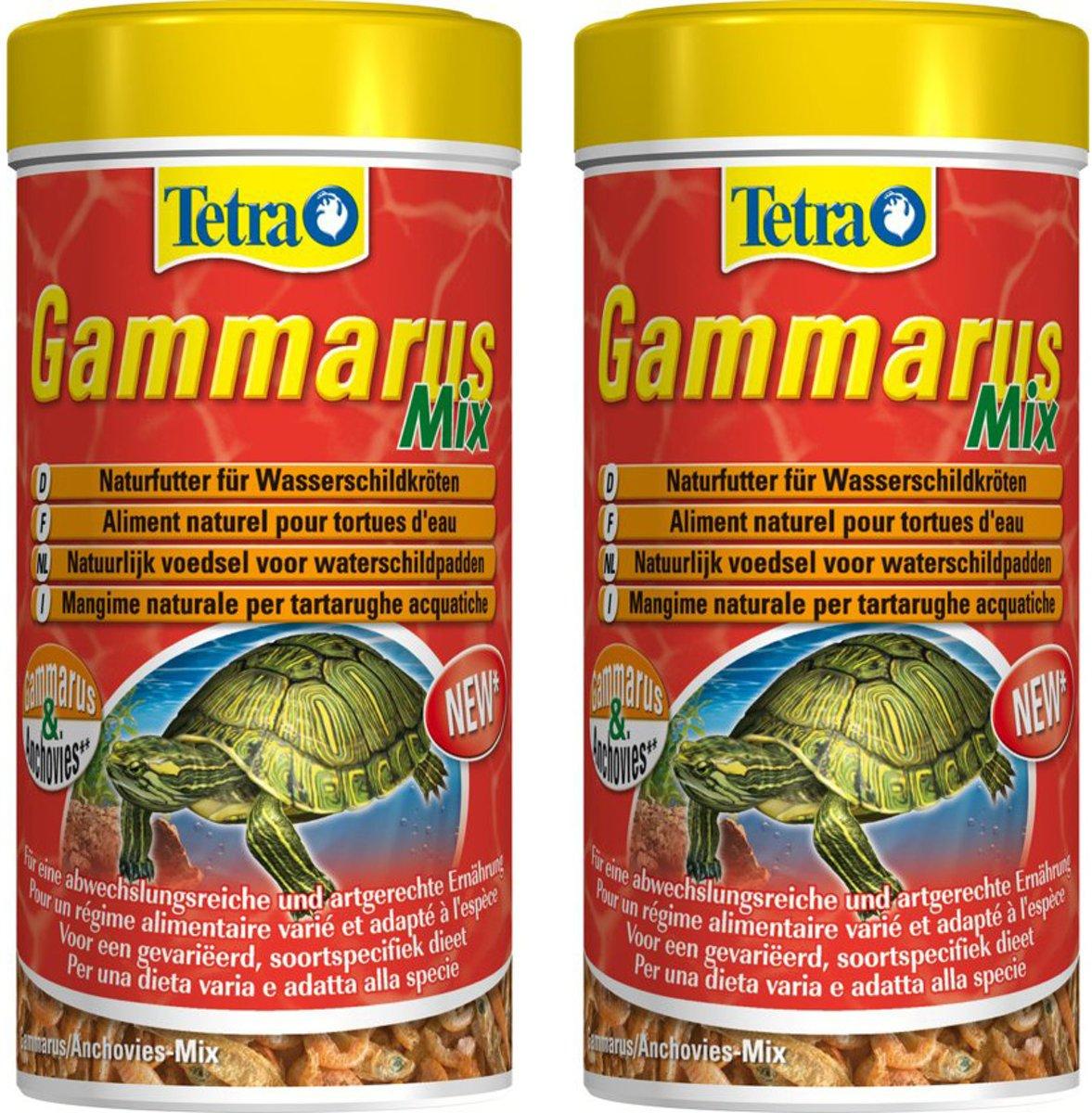 Tetra Fauna Gammarus Schildpadmix - 250 ml - Per 2 stuks