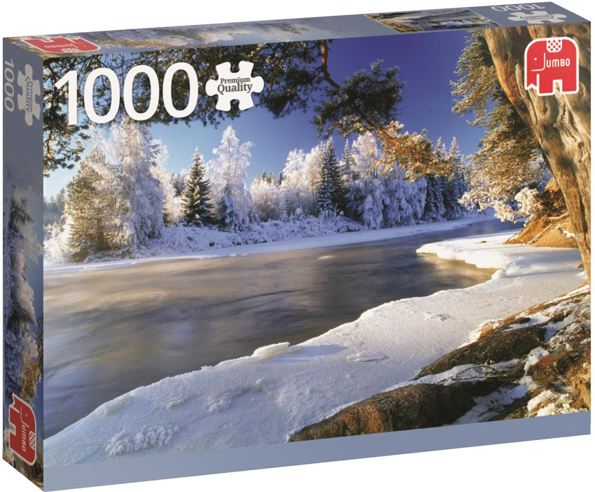 Dal Rivier Zweden Premium Quality - Puzzel 1000 stukjes kopen