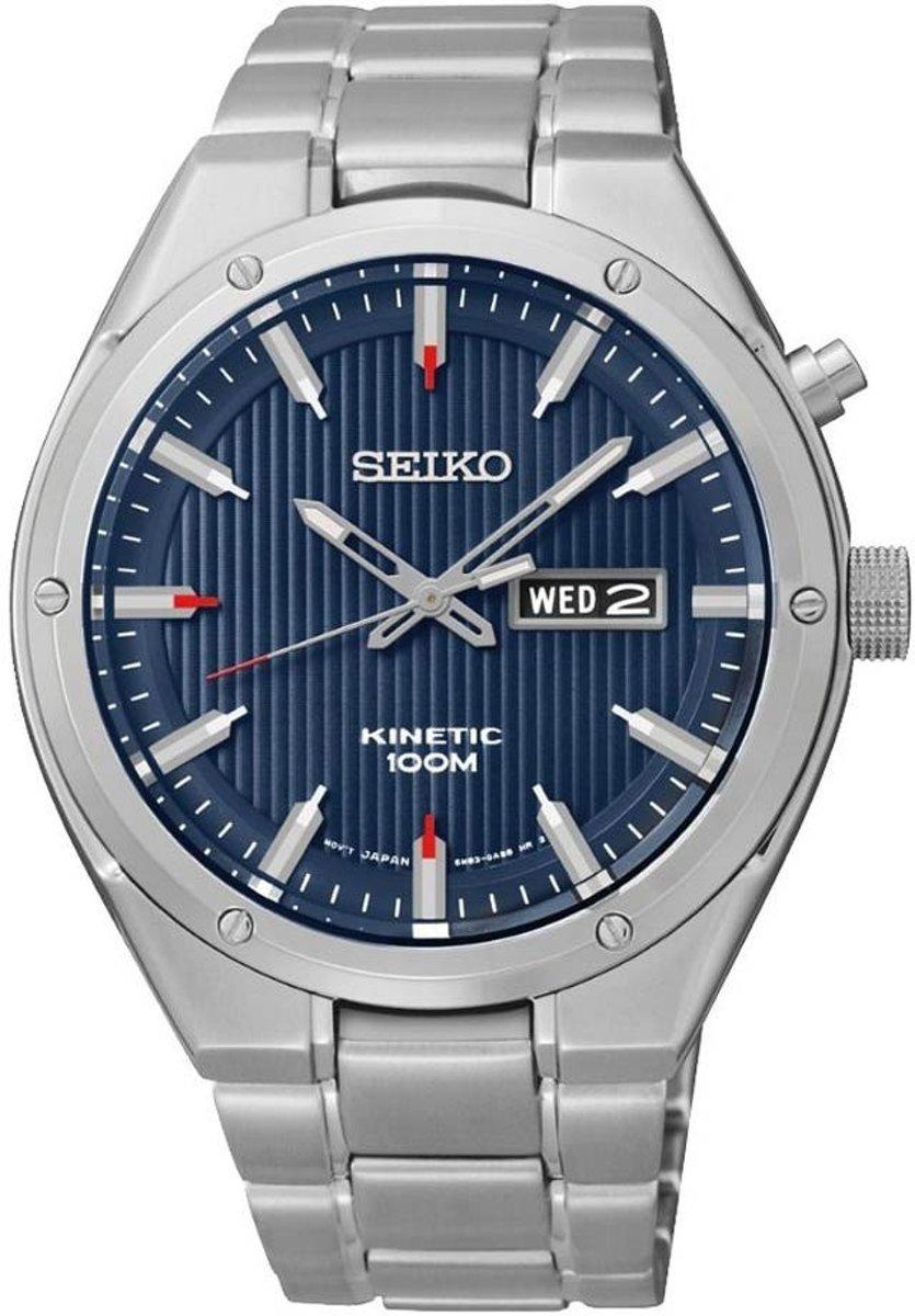Seiko SMY149P1 horloge heren - zilver - edelstaal