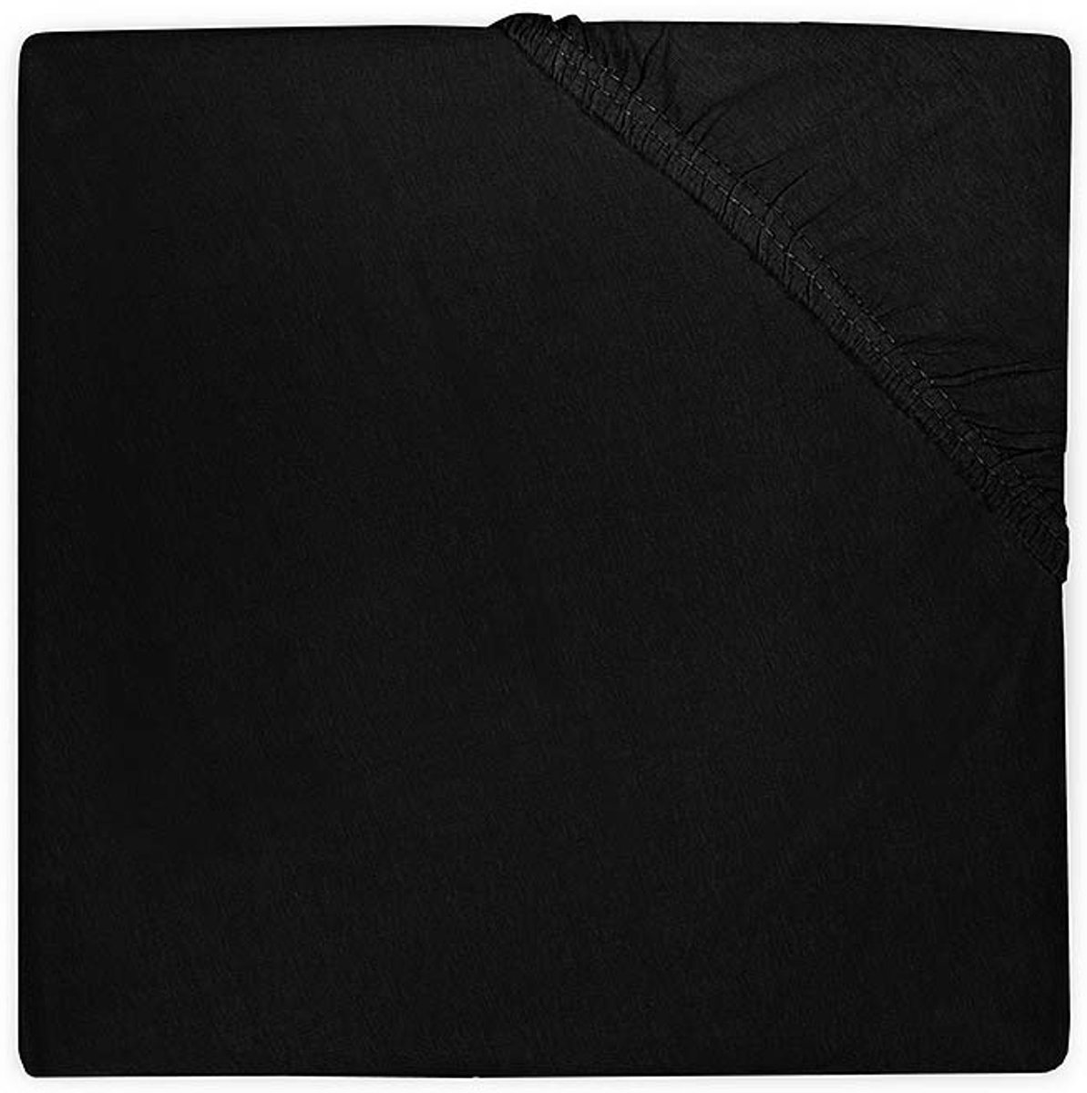 Jollein - Ledikant Hoeslaken Jersey - 60x120 cm - Zwart