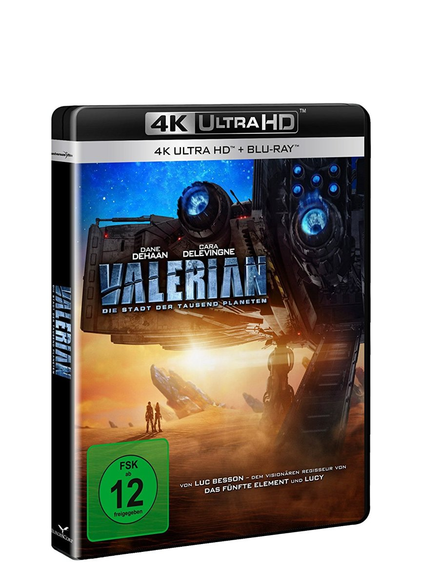 Valerian (Ultra HD Blu-ray & Blu-Ray)-