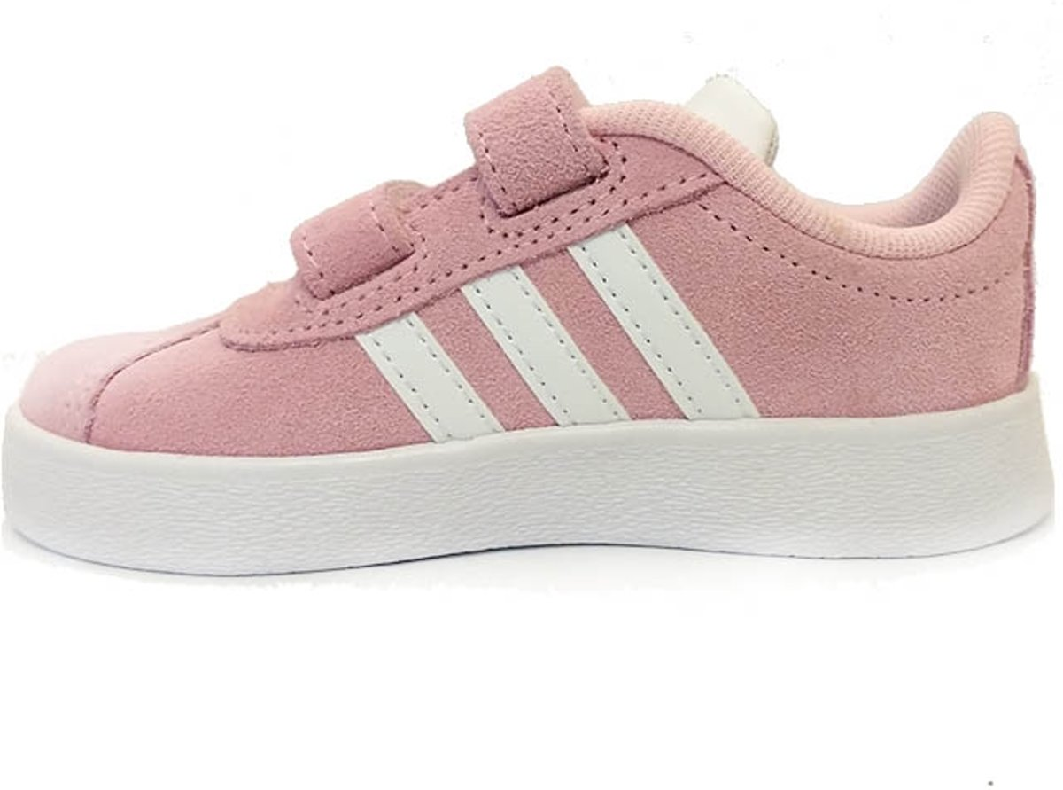 ea152a38a12 bol.com | Roze adidas Sneakers VL Court 2.0 Klittenband
