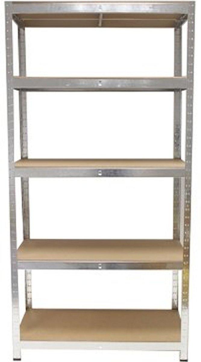 Stellingkast 75 Cm Breed.Bol Com Grafner Stellingkast 75 Kg Per Plank 75 X 30 X 172 Cm