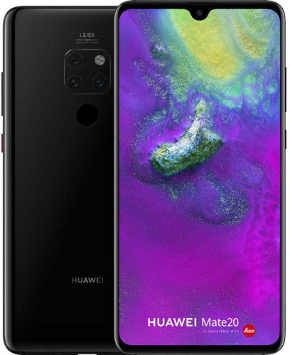 Huawei Mate 20 16,6 cm (6.53'') 4 GB 128 GB Hybride Dual SIM 4G Zwart 4000 mAh kopen