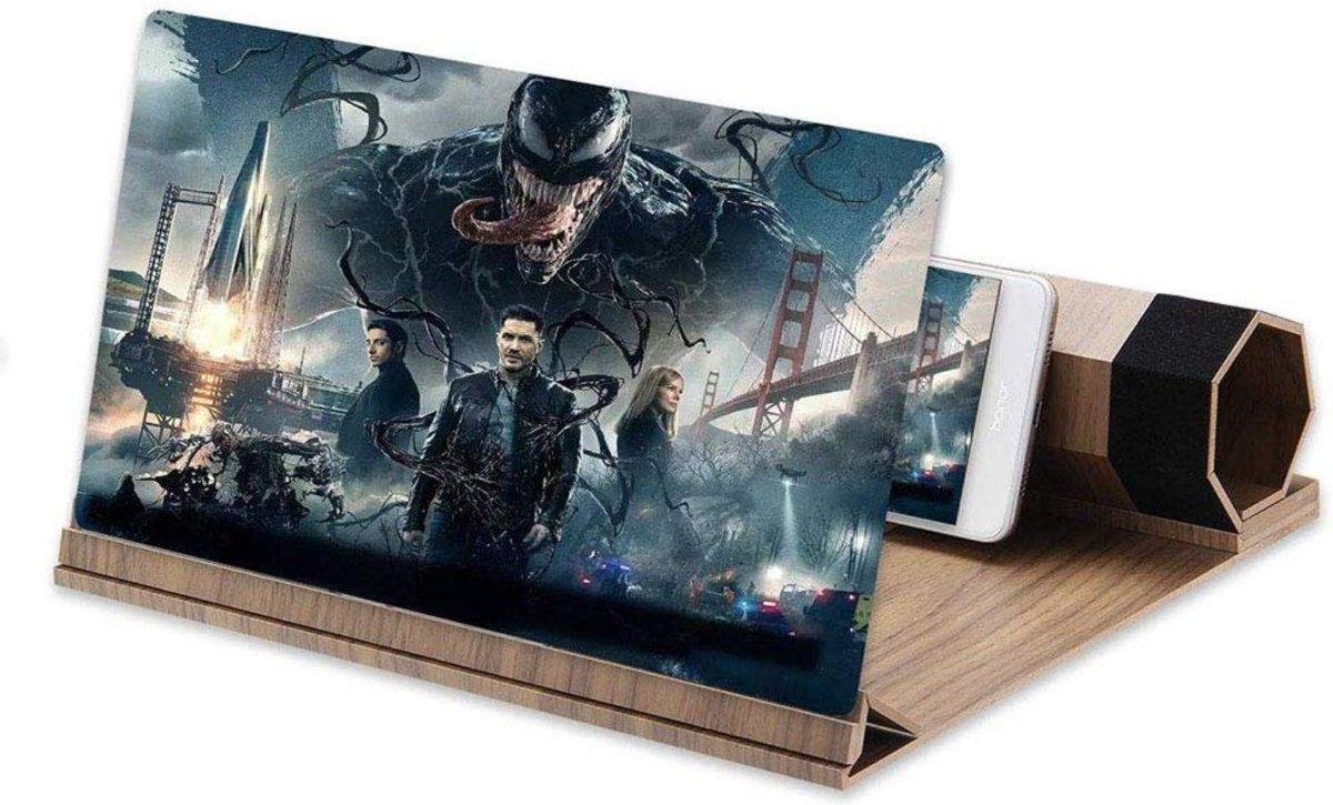 Beeldscherm Vergroter Vergroot Het Scherm Van Je Telefoon Mobile Vergrootglas Projector GSM Versterker Draagbaar Vouwen Smartphone Film Kijken Telefoonscherm kopen