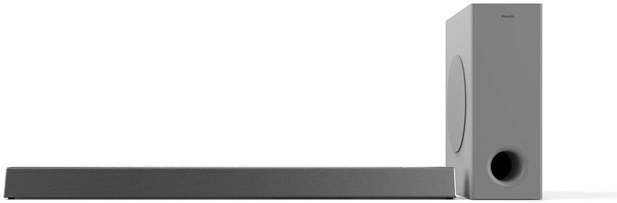 Philips HTL3325 - Soundbar met subwoofer - Zilver kopen