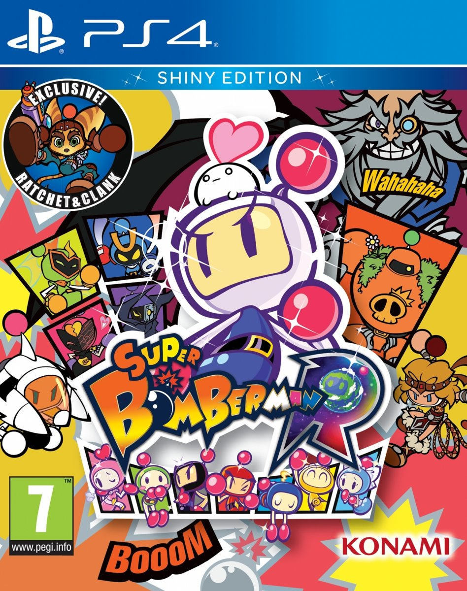 Super Bomberman R: Shiny Edition PlayStation 4