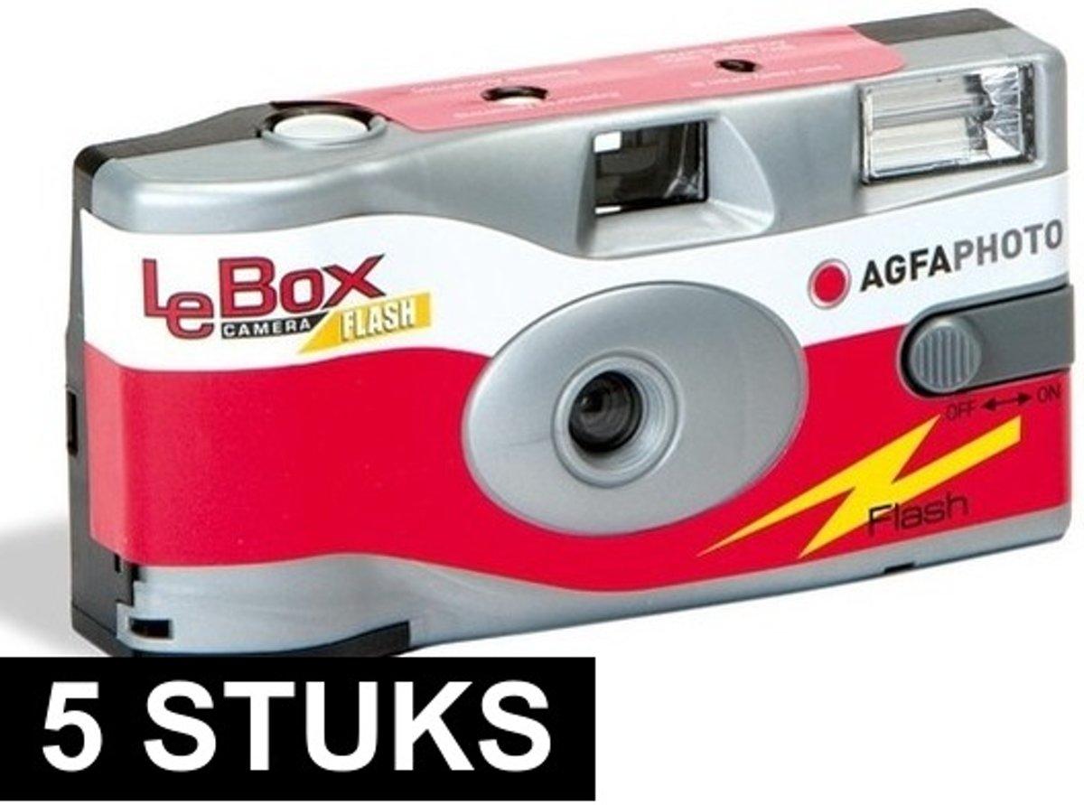 5x wegwerp cameras met flitser kopen