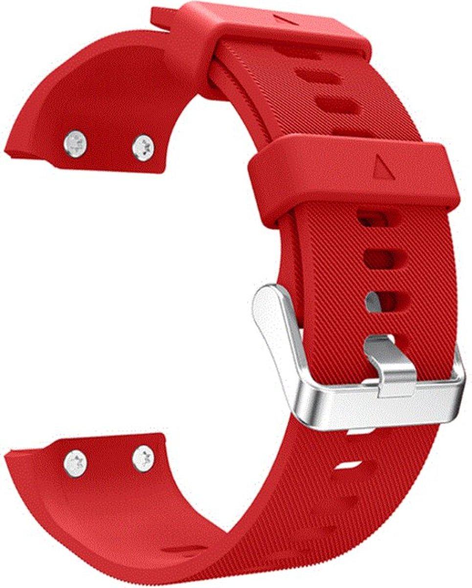 Sportbandje Rood geschikt voor Garmin Forerunner 30 en Forerunner 35 kopen