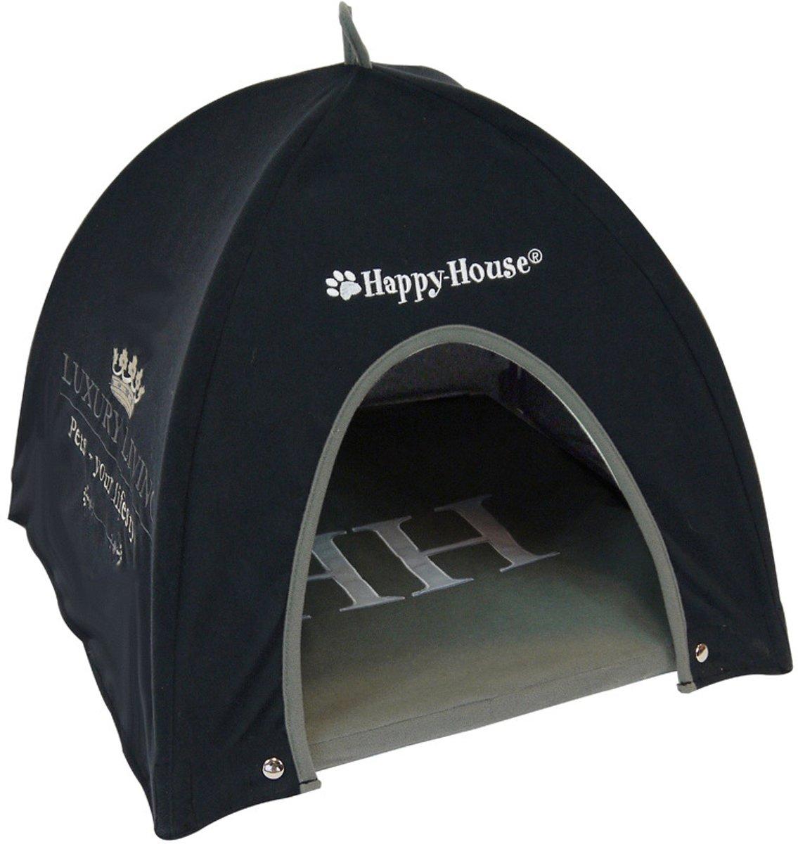 Happy House Luxury Living Tent - Zwart