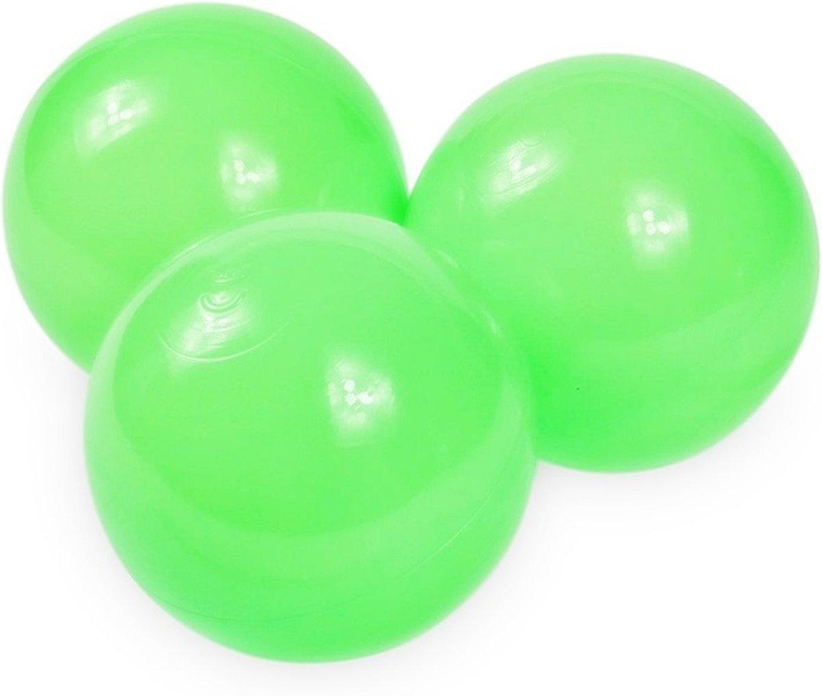 Ballenbak ballen jade (70mm) voor ballenbak 300 stuks