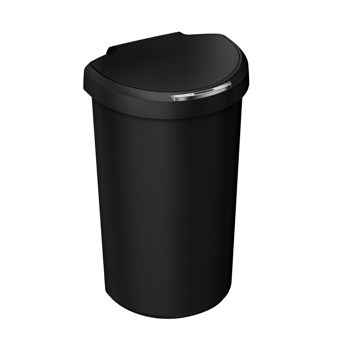 Simplehuman Semi Round Prullenbak - Sensor - Kunststof - 40 l - Zwart kopen