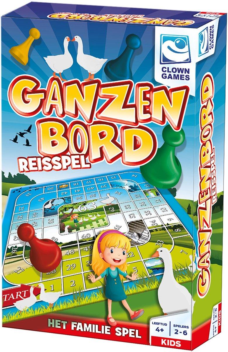 Clown Ganzenbord