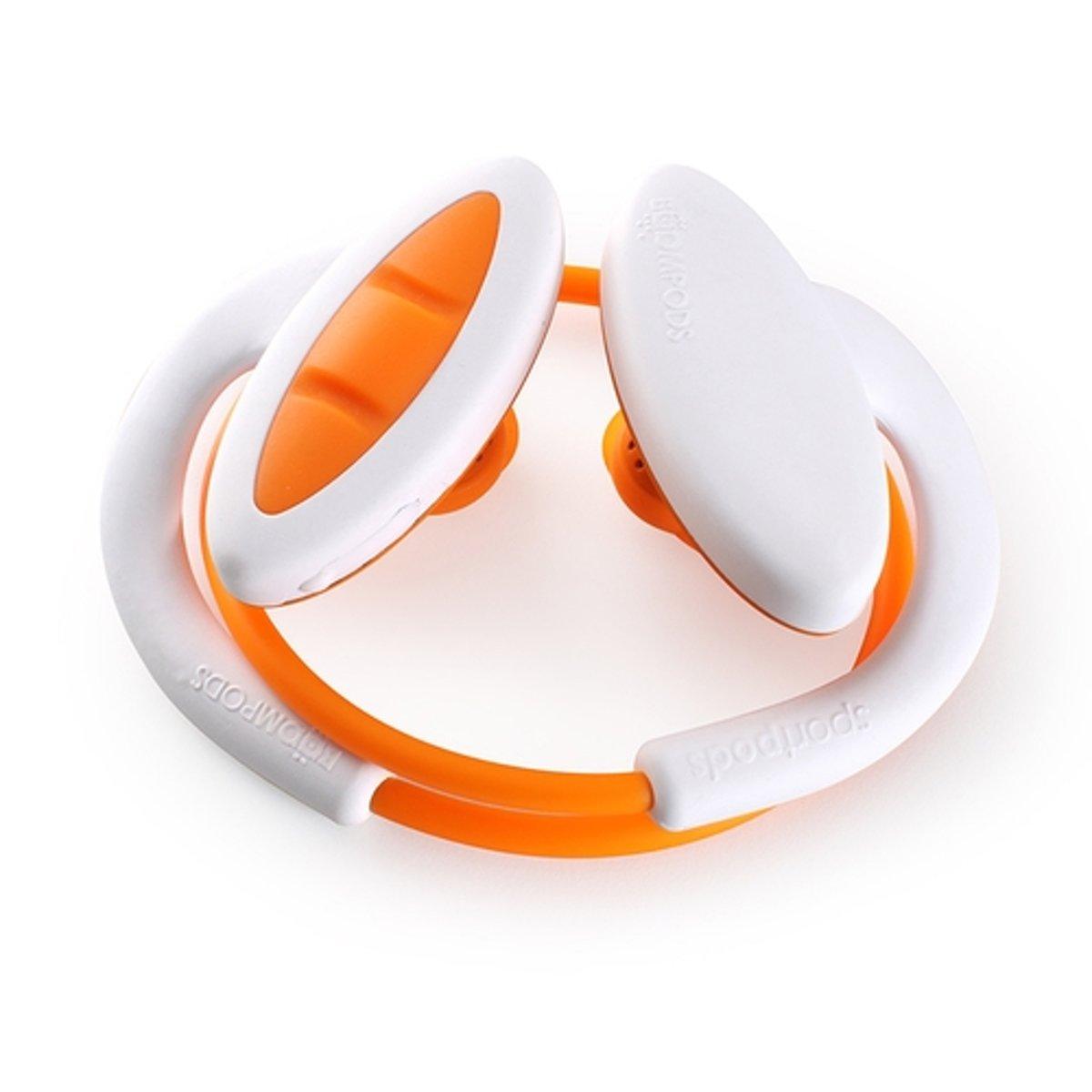 Boompods Sportpods 2 wit/oranje kopen