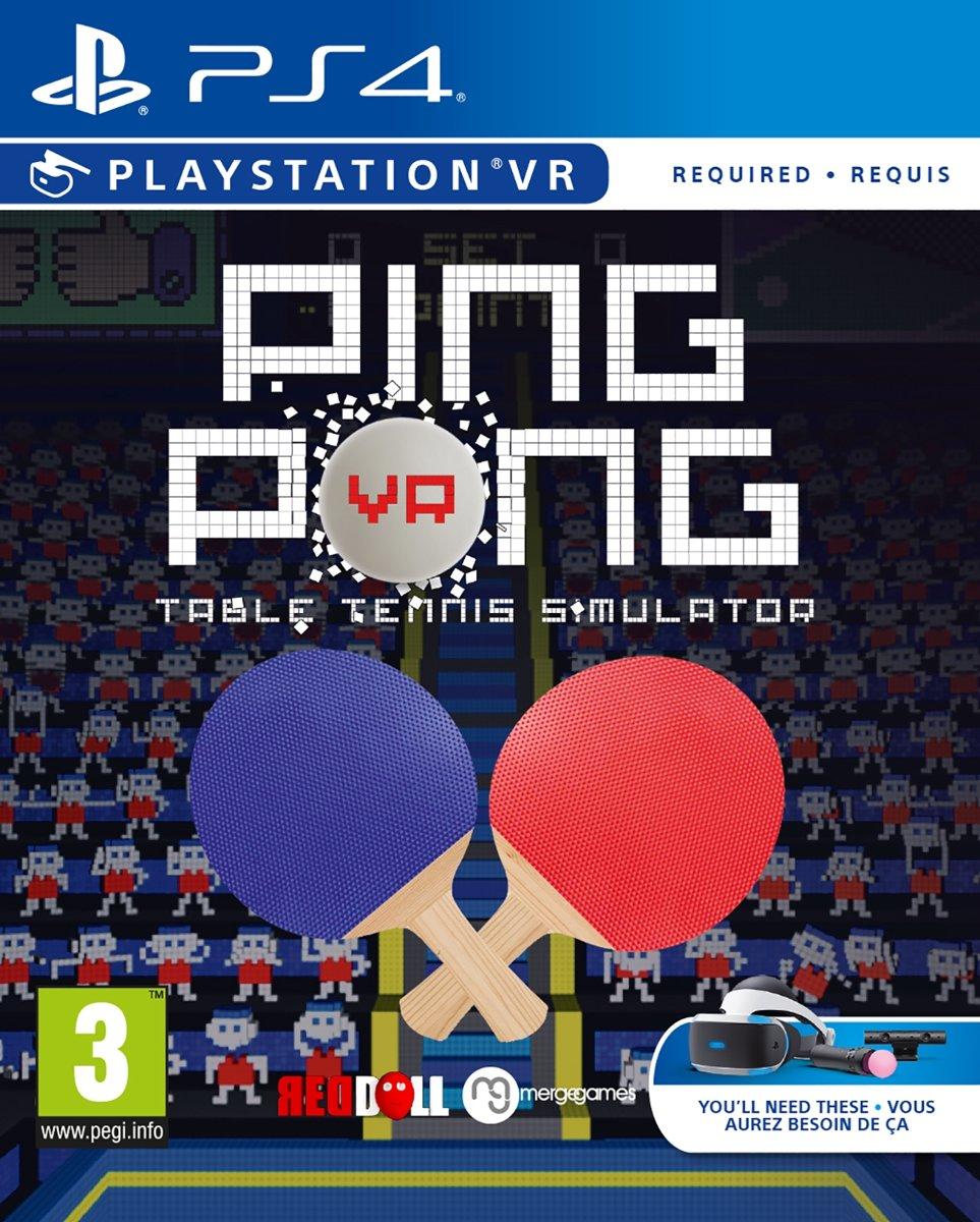 Ping Pong Table Tennis Simulator - PS VR PlayStation 4