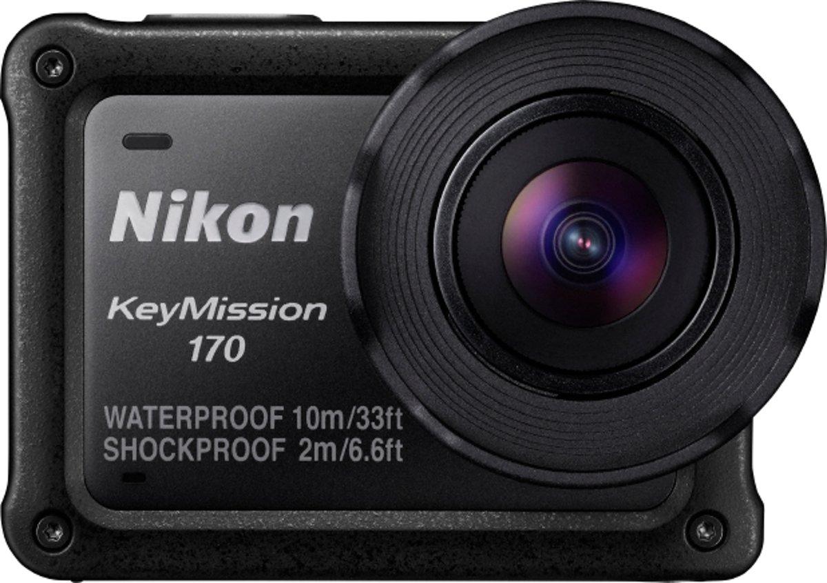 Nikon KeyMission 170 actiesportcamera 4K Ultra HD CMOS 12,71 MP 25,4 / 2,3 mm (1 / 2.3'') Wi-Fi 134,5 g
