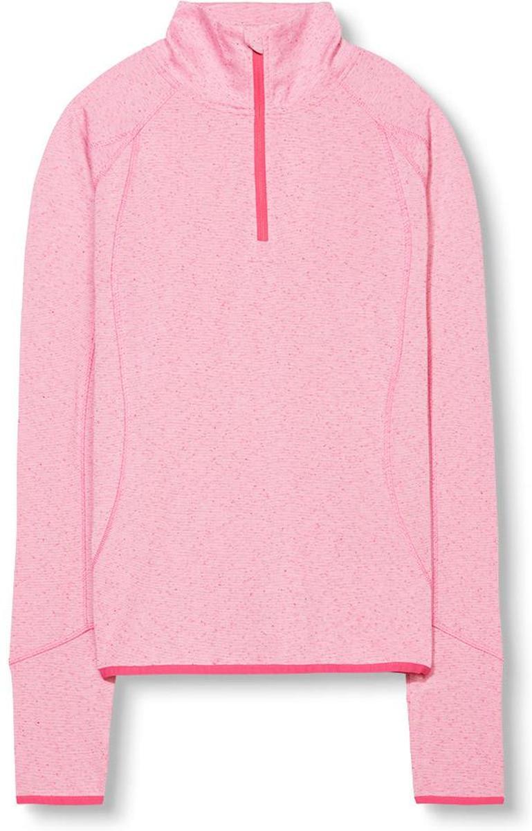 Esprit Sports T-shirt lange mouw - Dames - Maat XL - Roze thumbnail