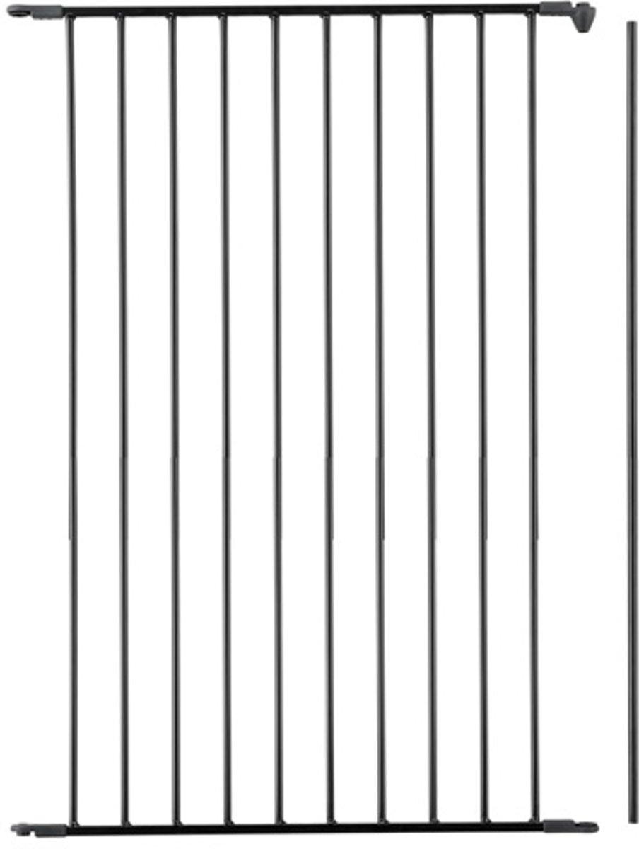 BabyDan Flex Losse Uitbreiding Paneel 72 cm Extra hoog 105 cm Zwart kopen