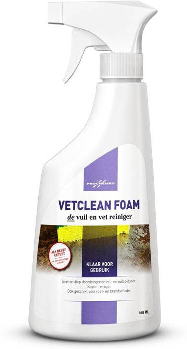 Prochemko Vetclean Foam 650 ML Pompspray