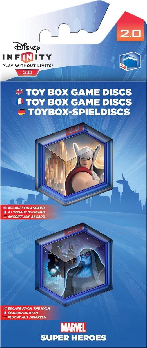 Disney Infinity 2.0 - Toy Box Game Disc Pack (Wii U + PS4 + PS3 + XboxOne + Xbox360) kopen