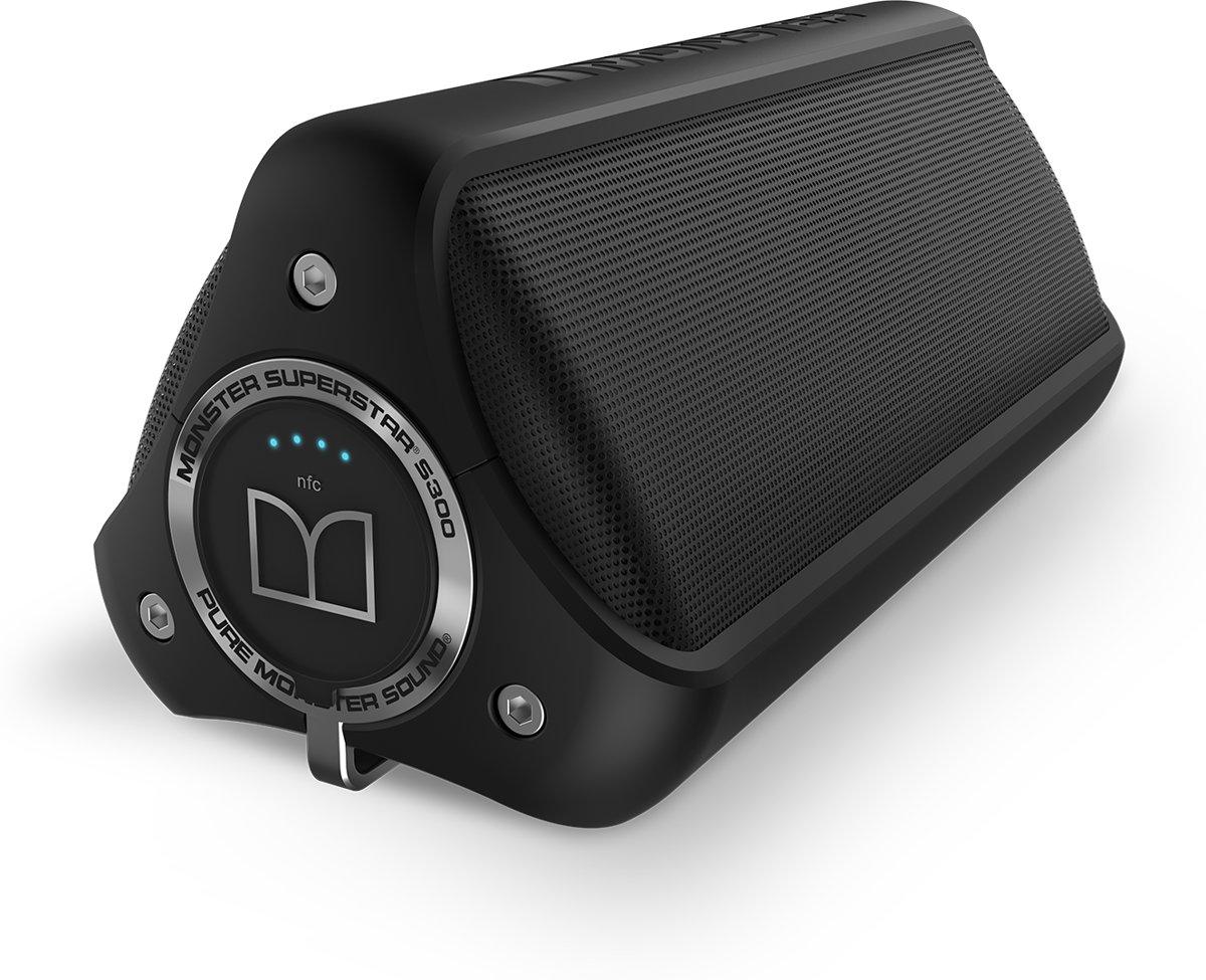 Monster SuperStar S300 Bluetooth Speaker - Zwart kopen